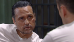 Sonny and Julian work to prove Fluke's identity on the Jan. 21, 2015 episode of 'General Hospital'