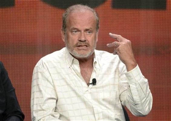 "Cast member and executive producer Kelsey Grammer participates in the Starz panel for ""Boss"" during the cable television sessions at the Television Critics Association summer press tour in Beverly Hil"