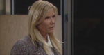 Brooke returns with some stern accusations aganst Quinn on the January 22, 2015 episode of 'The Bold and the Beautiful'