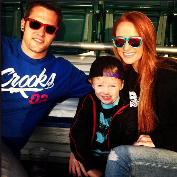 Maci Bookout with ex-boyfriend Ryan Edwards and son Bentley