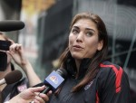 "Hope Solo on the ""Today"" show"
