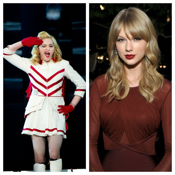 Madonna versus Taylor
