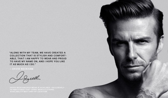 Beckham for H&M