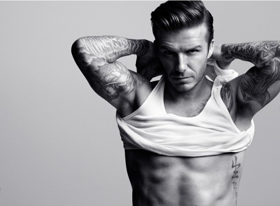 David Beckham Bodywear for H&M.