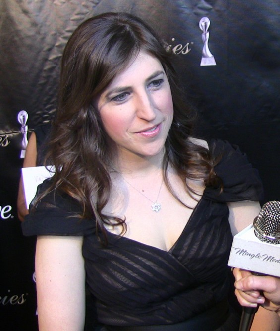 Actress Mayim Bialik at the 36th Annual Gracie Awards Gala