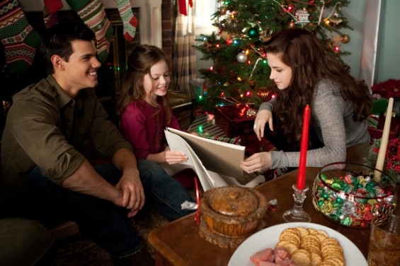 Bella, Jacob and Renesmee