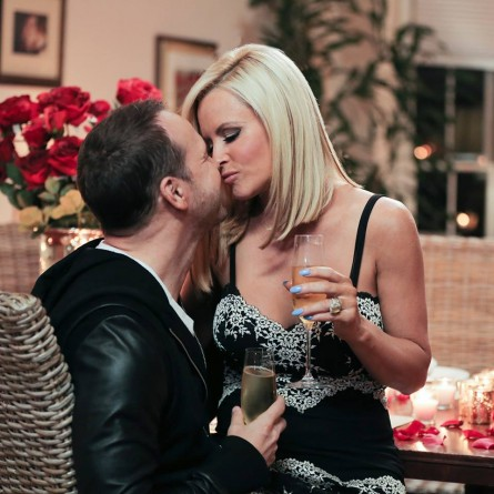 Jenny McCarthy and Donnie Wahlberg