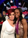 Sharon Osbourne and Gabby Douglas
