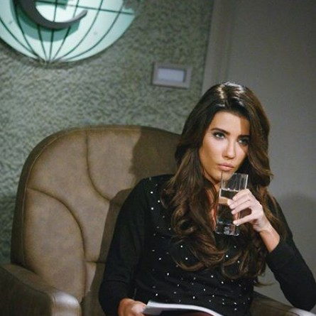 Steffy returns on the Jan. 30, 2015 episode of 'The Bold and the Beautiful'