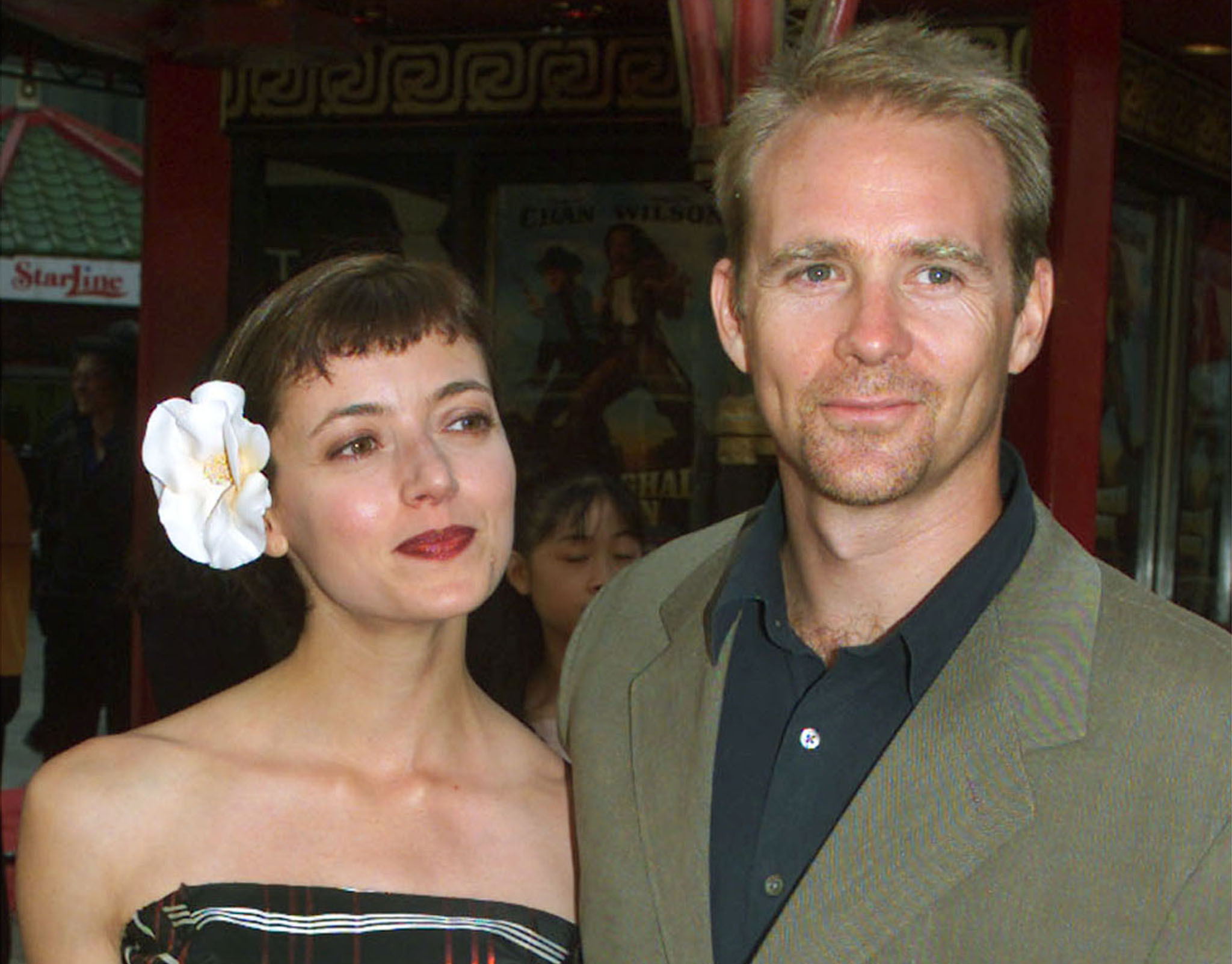 Mia Sara and husband