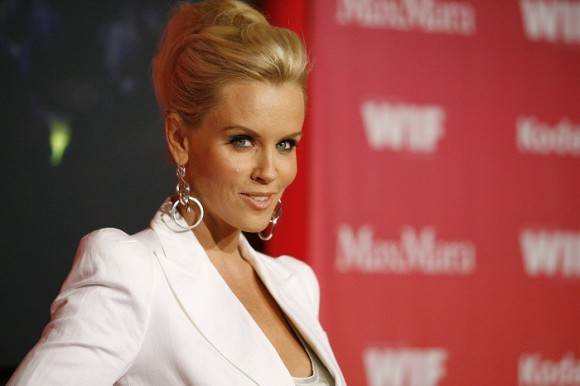 Actress Jenny McCarthy poses at the Women in Film 2009 Crystal and Lucy Awards in Century City, California June 12, 2009. The awards, presented by Women In Film, Los Angeles, honor outstanding women f