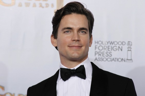 Actor Matt Bomer poses at the 68th annual Golden Globe Awards in Beverly Hills, California, January 16, 2011