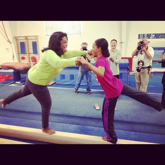 Oprah Gabby Douglas