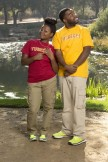 Lebya and CJ of 'The Amazing Race'