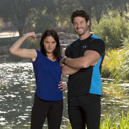 Aly Dudek and Steve Langton on 'The Amazing Race'