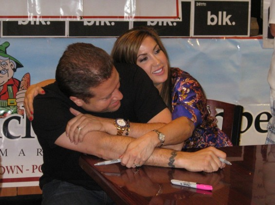 Jacqueline and Chris Laurita