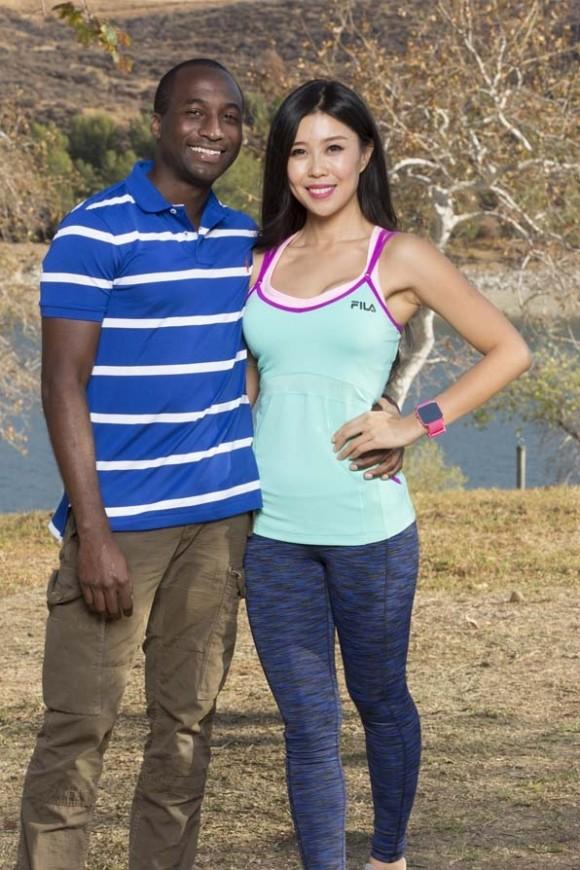 Wu and jelani roy on the amazing race season 26 photo cbs com