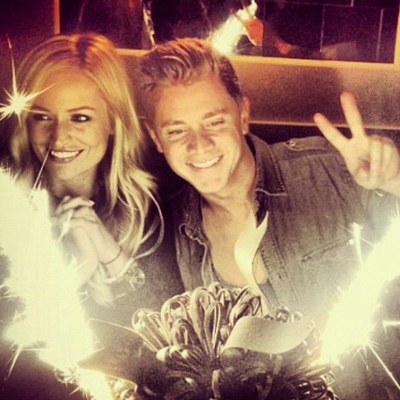 Emily Maynard and Jef Holm in New York City