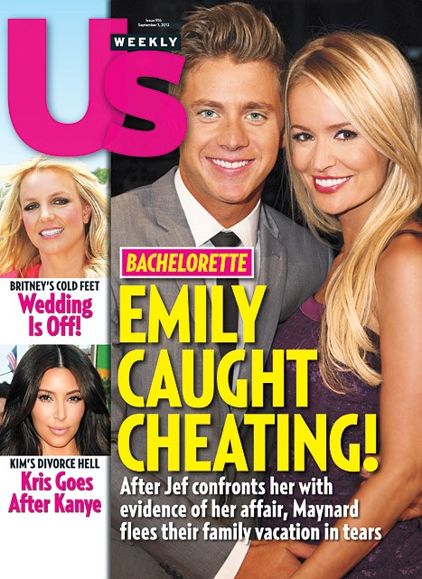 Emily Maynard and Jef Holm Cheating Scandal