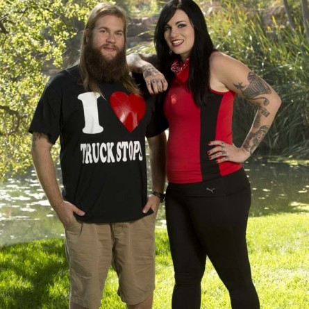 Rochelle Nevedall & Mike Dombrowski of season 26 of 'The Amazing Race'
