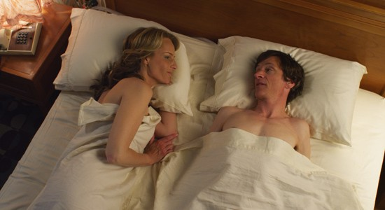 "Helen Hunt and John Hawkers on ""The Sessions."""