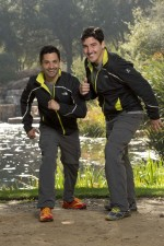 Jonathon Knight & Harley Rodriguez on 'The Amazing Race'