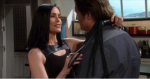 Quinn becomes suspicious after smelling perfume on Deacon on the March 31, 2015 episode of 'The Bold and the Beautiful'