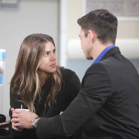 Chad tests Abigail to see how far she will go to keep Ben out of prison on the Feb. 27, 2015 episode of 'Days of Our Lives'