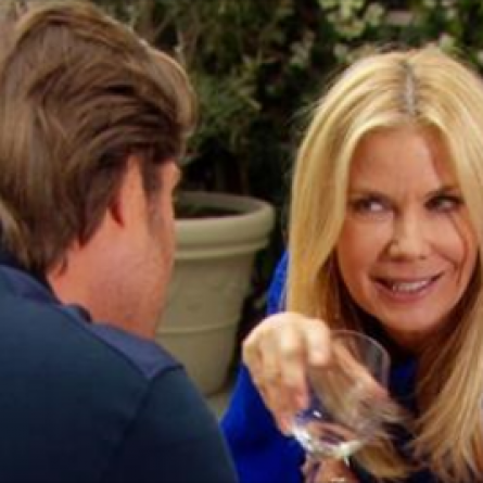 Brooke tries to seduce Deacon on the Feb. 27, 215 episode of 'The Bold and the Beautiful'