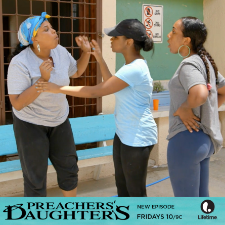 Lolly gets into it with cierra and others on the Feb. 27, 2015 episode of 'Preachers' Daughters'