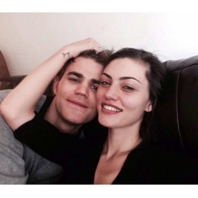 Paul Wesley And Nina Dobrev Nina dobrev and paul wesley