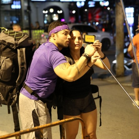 Matt and Ashley on Leg 3 of Season 26 of 'The Amazing Race'