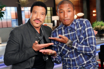 Lionel Richie & Pharrell Williams