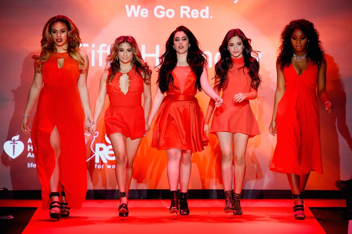 International women s day lauren jauregui fifth harmony camila cabello - Fifth Harmony Photo Credit Frazer Harrison Getty Images Entertainment