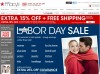 Macy&#039;s Labor Day Weekend Sale