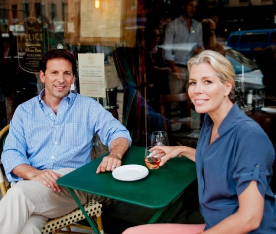 Aviva Drescher and her husband Reid