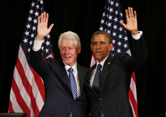 Bill Clinton Barack Obama