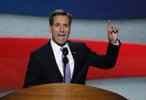 Delaware Attorney General Beau Biden addresses final session of Democratic National Convention in Charlotte