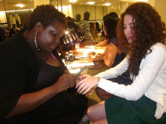 Free filing and manicure at Saks Fifth Avenue on FNO