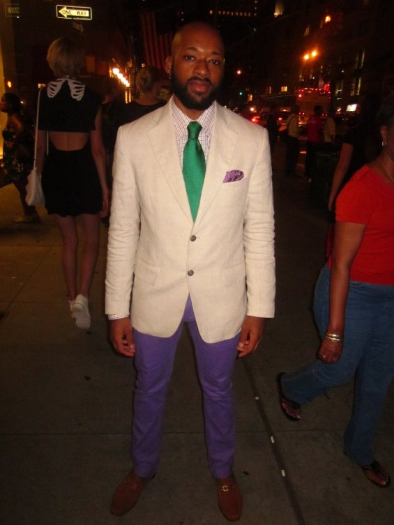 People hit the streets on FNO with all kinds of styles