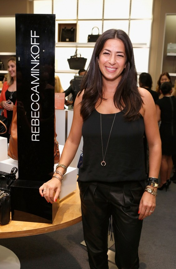 NEW YORK, NY - SEPTEMBER 06: Rebecca Minkoff attends Fashion&#039;s Night Out at Saks Fifth Avenue on September 6, 2012 in New York City. 