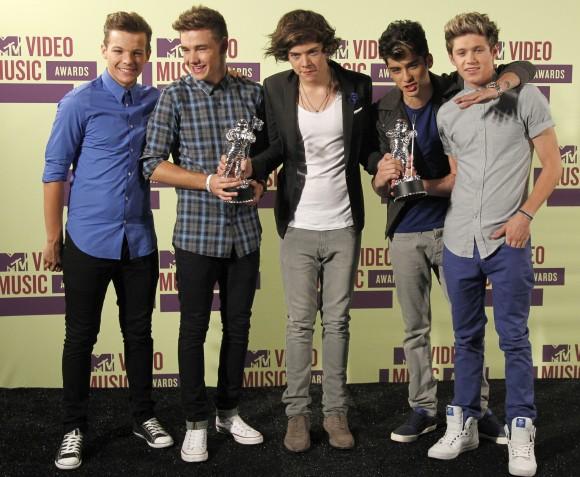 British/Irish boy band One Direction