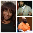 Michel'le and Suge Knight (partying and in court)