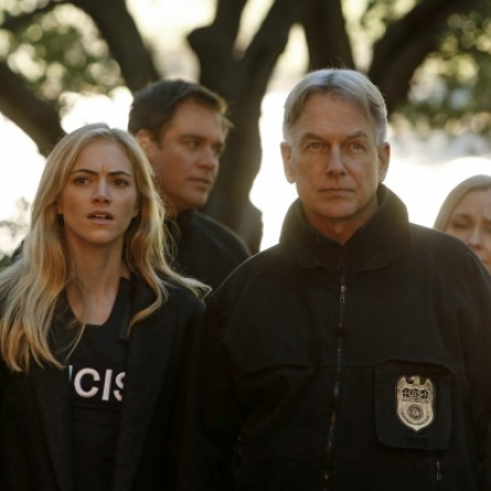 Emily Wickersham & Mark Harmon