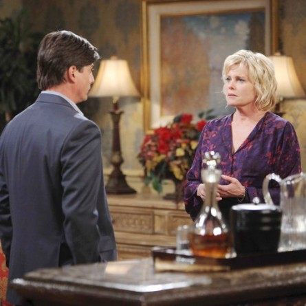 Adrienne and Lucas clash over their sons on the March 30, 2015 episode of 'Days of Our Lives'