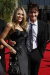 Charlie Sheen and his third wife, Brooke Mueller 