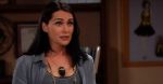 Quinn is stunned and heartbroken when she realizes Deacon was meeting with Brooke on the April 1, 2015 episode of 'The Bold and the Beautiful'