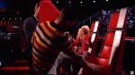 Blake Shelton, Adam Levine & Christina Aguilera