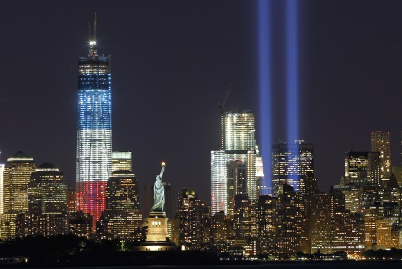 9/11 Light Tribute