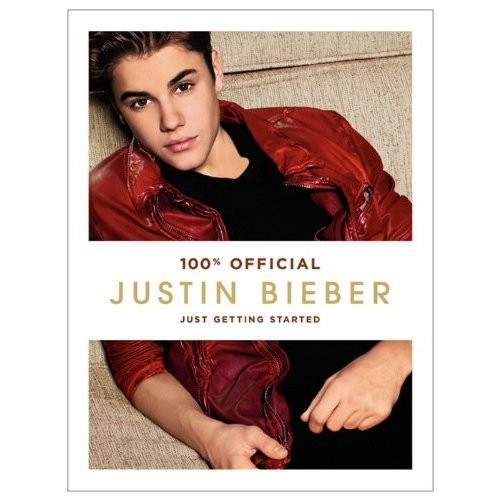 "Justin Bieber's book ""Just Getting Started"" hit stores September 13, 2012."